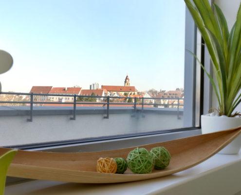 Ausblick auf die Leonberger Altstadt