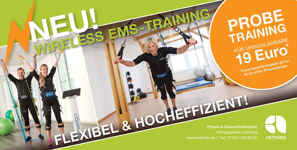 EMS-Probetraining für nur 19 Euro!