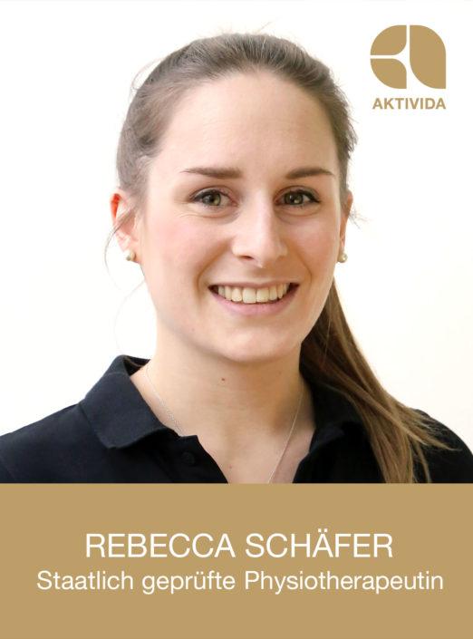 Rebecca Schäfer, staatlich geprüfte Physiotherapeutin