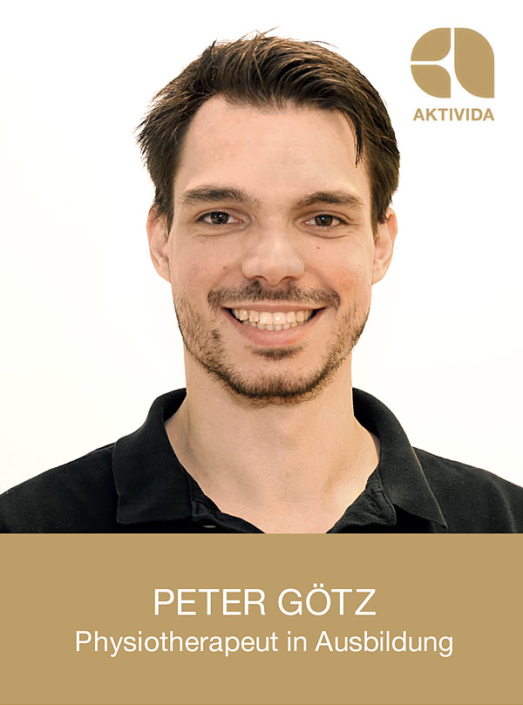 Peter Götz, Physiotherapeut in Ausbildung