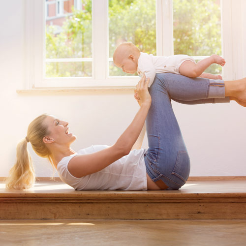 Fit mit Baby – Mamifitness bei AKTIVIDA